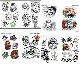 Skulls & Little Skull Tattoo Design 66-Page Flash Book