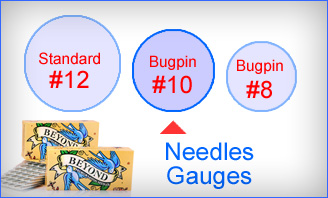 Tattoo Needles (On Bar #10 Bugpin Needle)