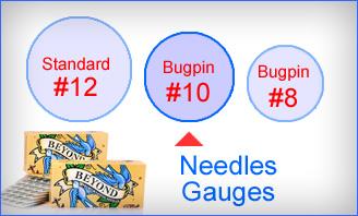 紋身針 (On Bar #10 Bugpin Needle)