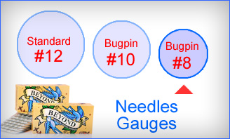 Tattoo Needles (On Bar #8 Bugpin Needle)