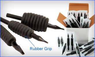 Rubber Grip Disposable Tubes