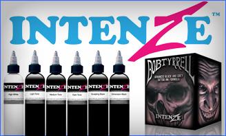 Intenze Ink Sets & Black Ink