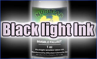 Nuclear Black Light Ink