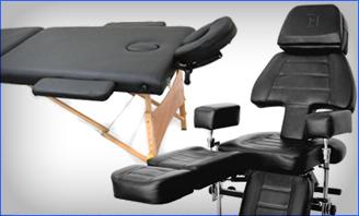 紋身椅和床