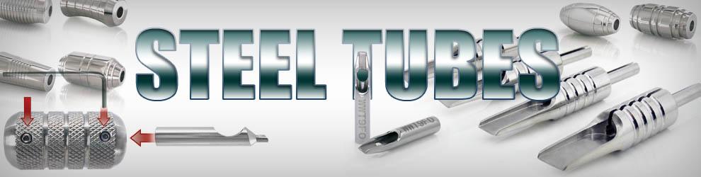 Tattoo Steel Grips & Tips