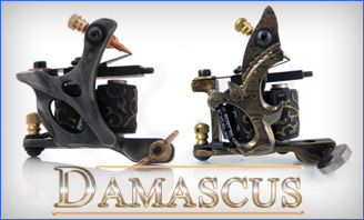 Damascus-séries machines à tatouer