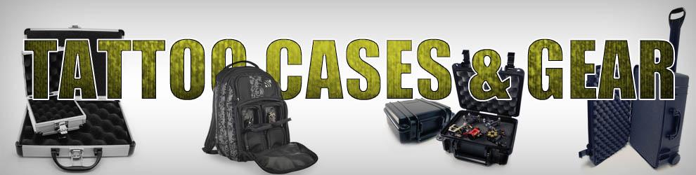 Tattoo Cases & Backpacks