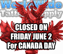 canada day closed tattoo supply