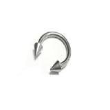Stainless steel Cone Circular Barbells
