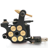 8 wrap Bullet Shader Tattoo Machine