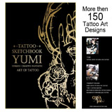 Tattoo Sketchbook by Yumi from China Ink