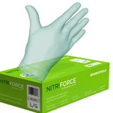Nitri-Force GREEN Biodegradable Nitrile Gloves