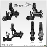DRAGONFLY Machine Evil Black