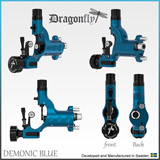 DRAGONFLY Machine Demonic Blue