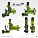 STINGRAY Machine Slime Green