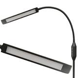 LED Black Flex Arm Floor Lamp