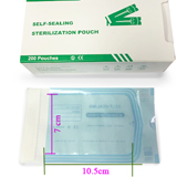 Sterilization Pouches GreenWhite Box