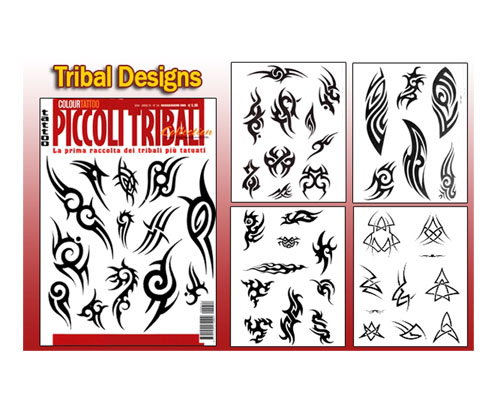 Tribal Flash Book