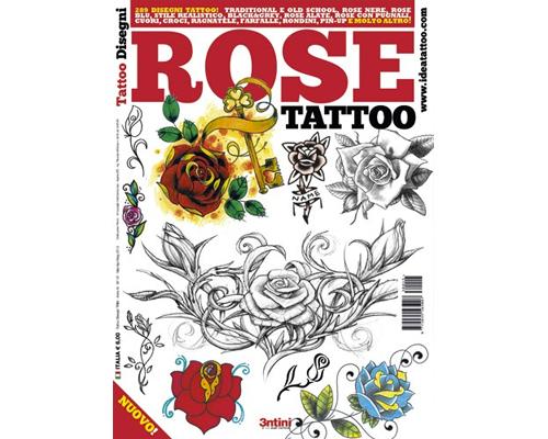 Rose Tattoo Flash Book