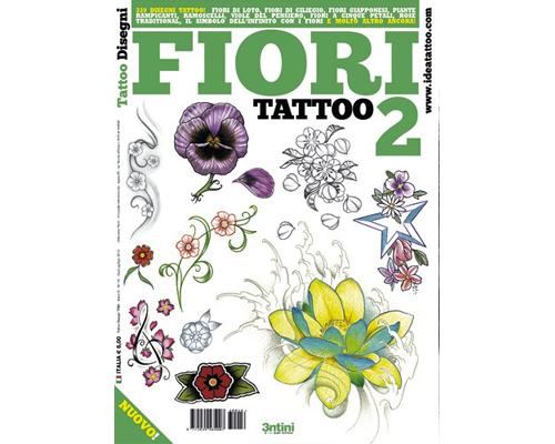 Flower 2 Tattoo Flash Book