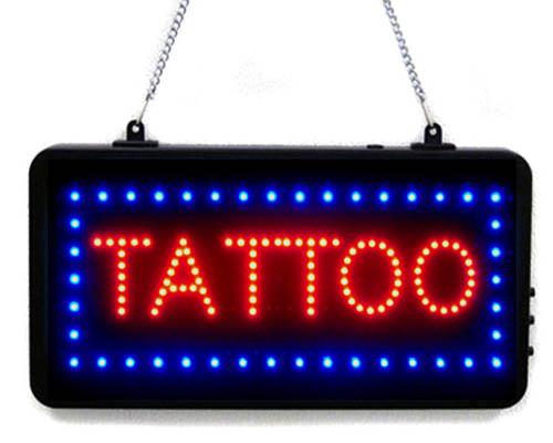TATTOO Store Sign