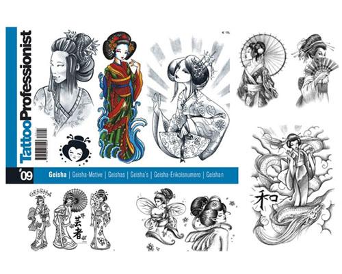 Pro Geisha Flash Book #9