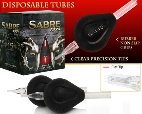 Flat Tip ATOM Disposable Tubes