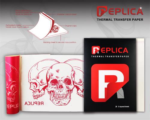 Replica Red Stencil Paper