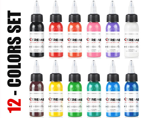 12 Color Set