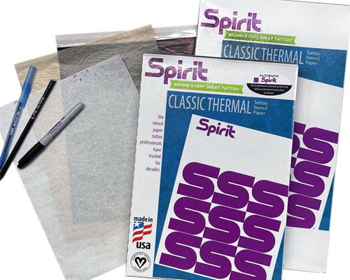 Repro FX Spirit Master Transfer Paper
