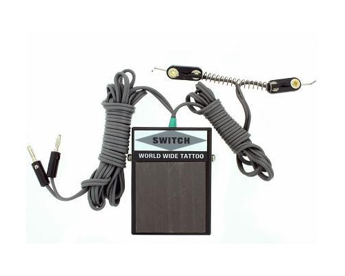 Foot Pedal & Clip Cord Combo (Banana Plug)