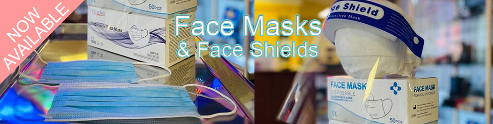 face mask and shield